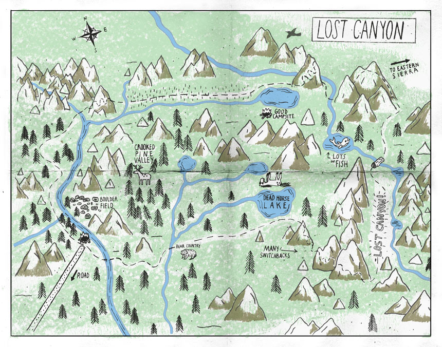 Lost-Canyon-Map